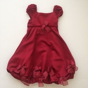Girl's Red Formal Dress